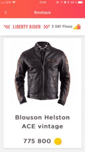 Motard : Gagne ton blouson Helston en roulant avec l'appli