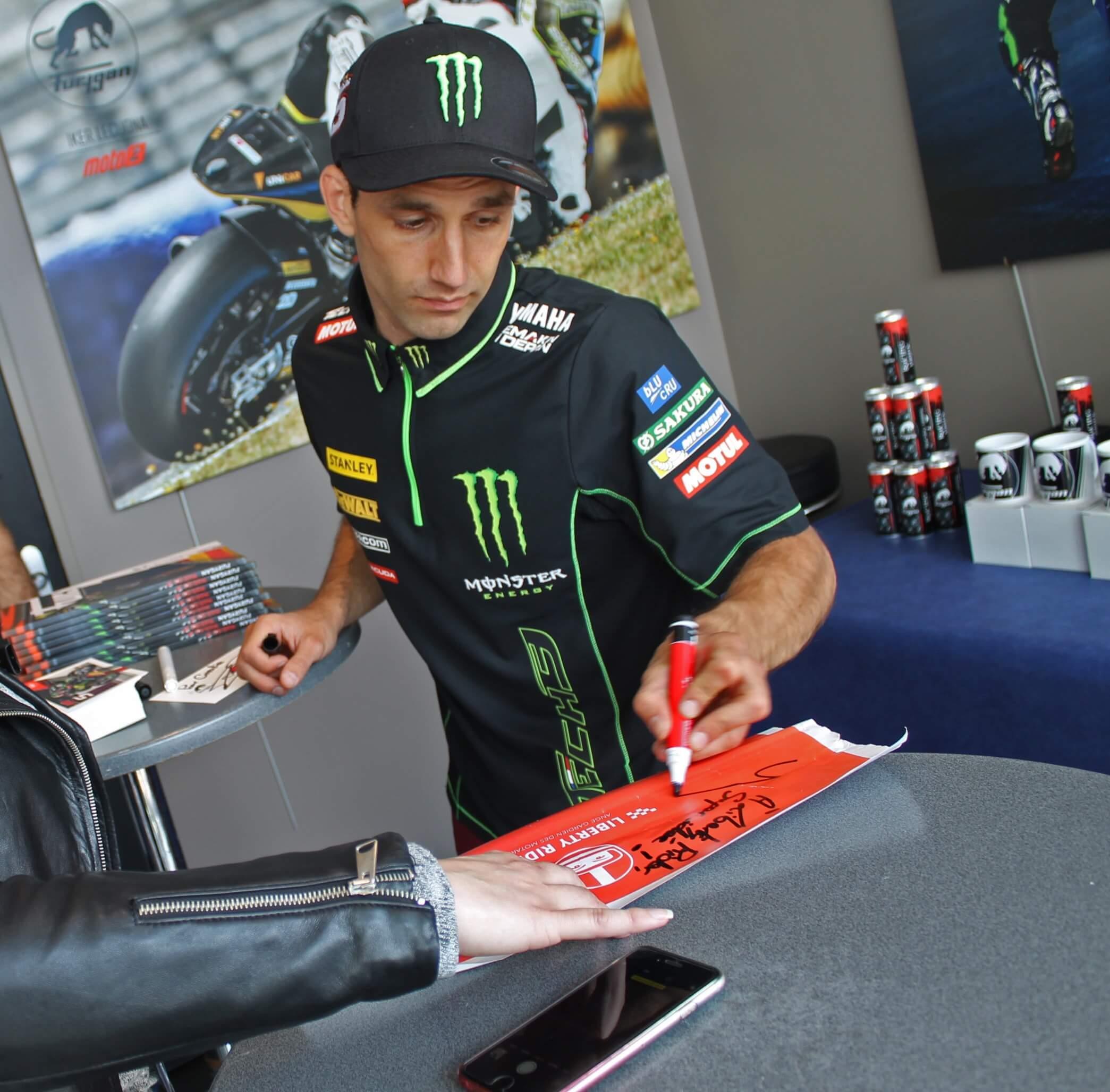 Zarco valide Liberty Rider au Moto GP