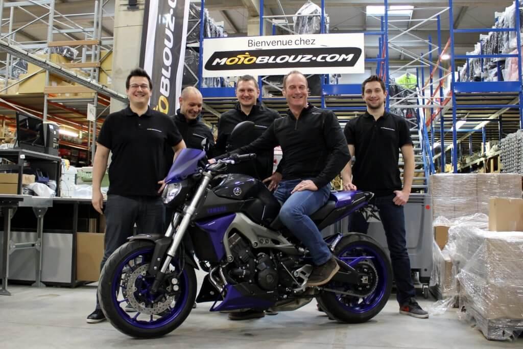 Motoblouz équipe votre moto