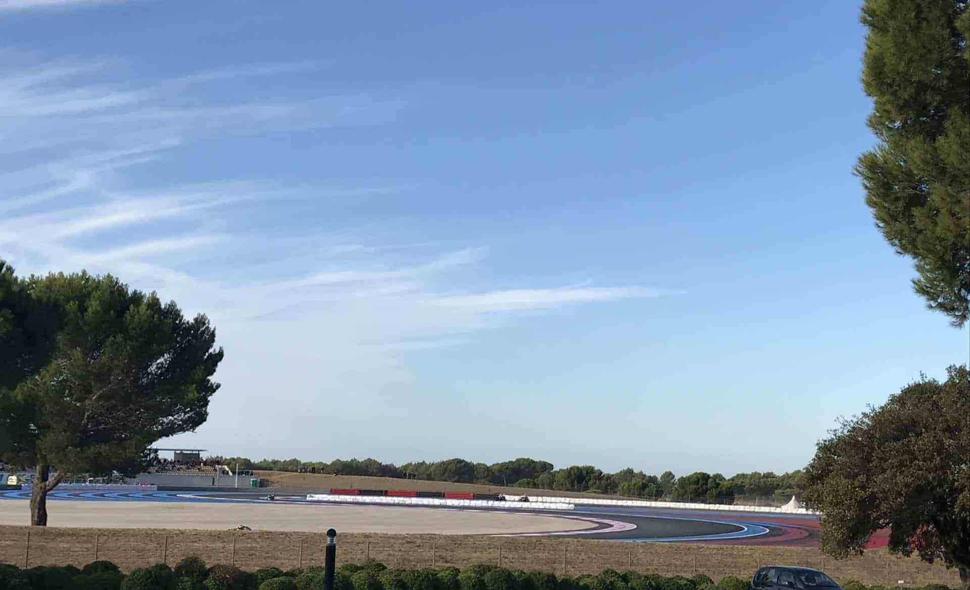 Circuit Paul Ricard au matin