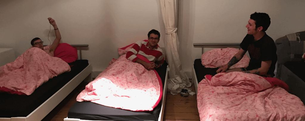Martin au lit