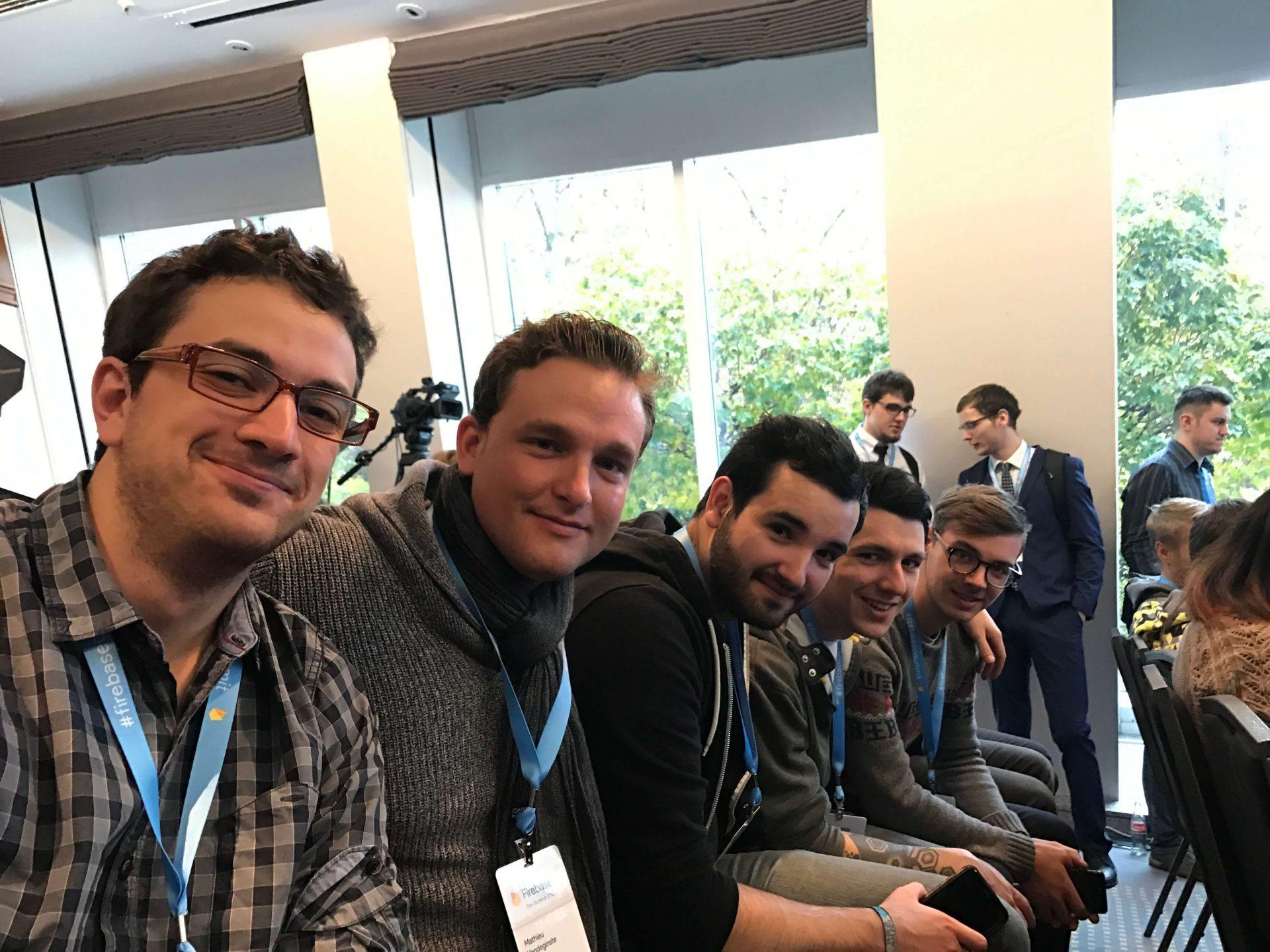 L'équipe est au Firebase Summit