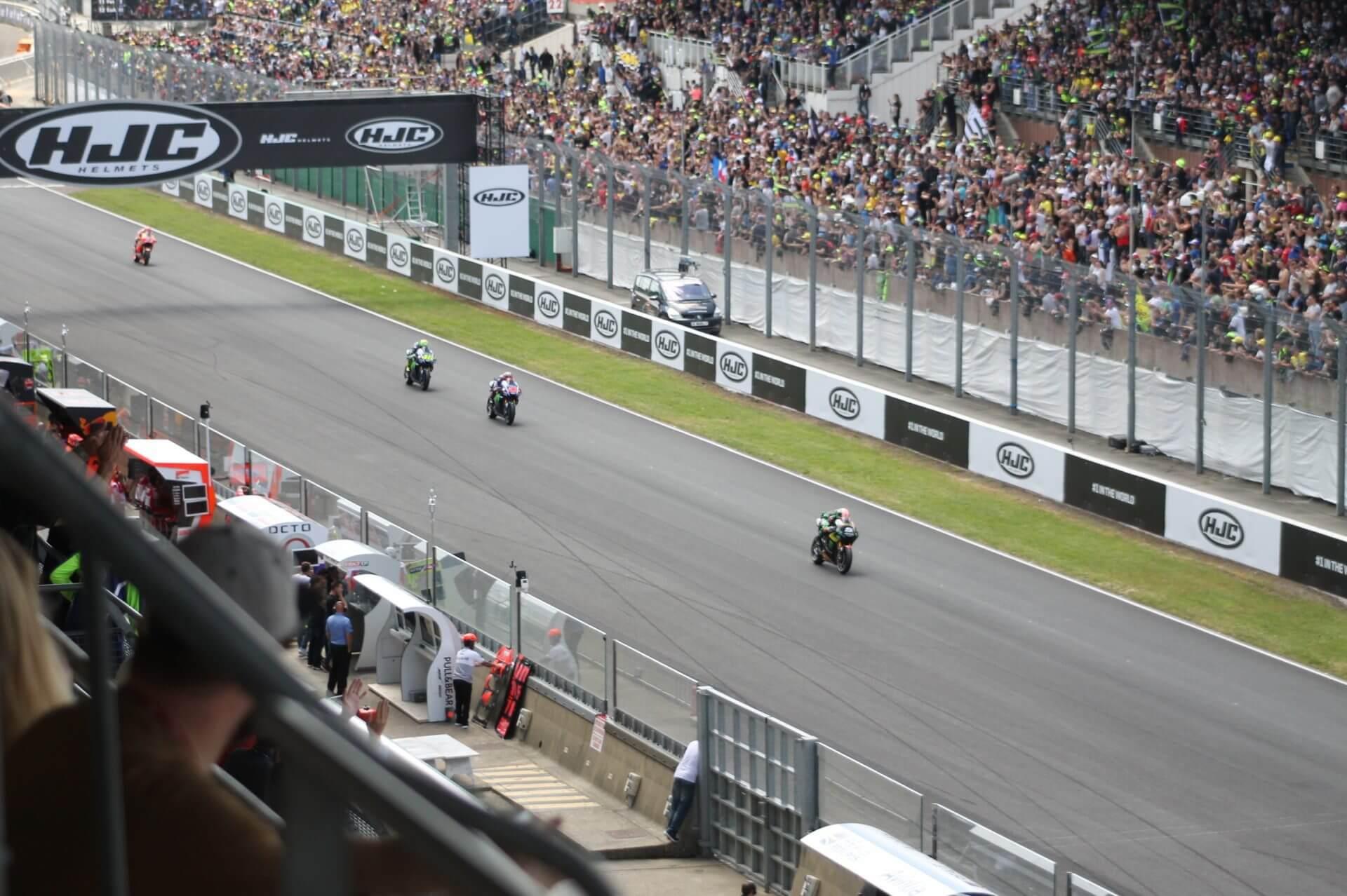 Zarco en première position au Moto GP 2017