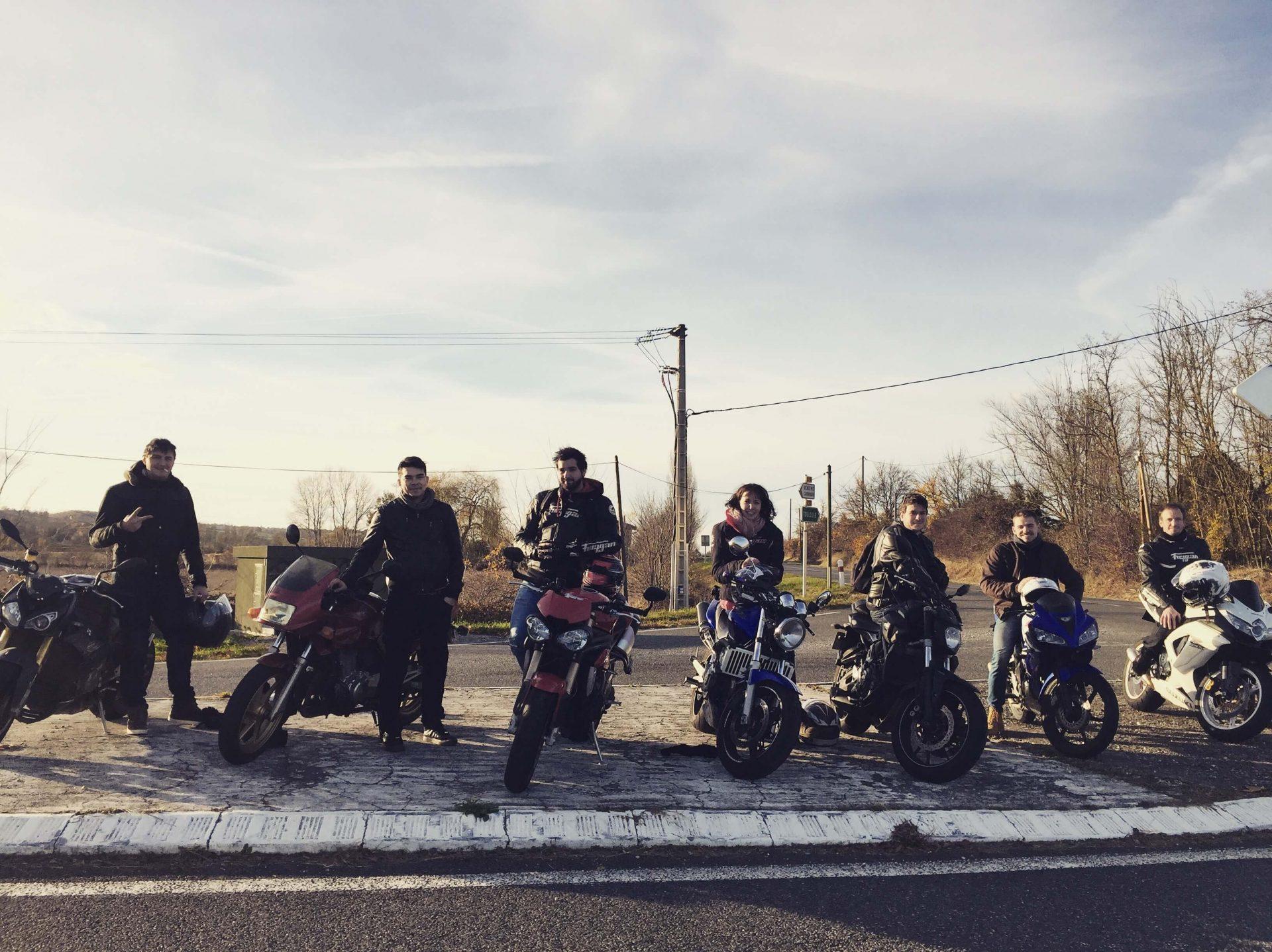 Membres de l'équipe Liberty Rider