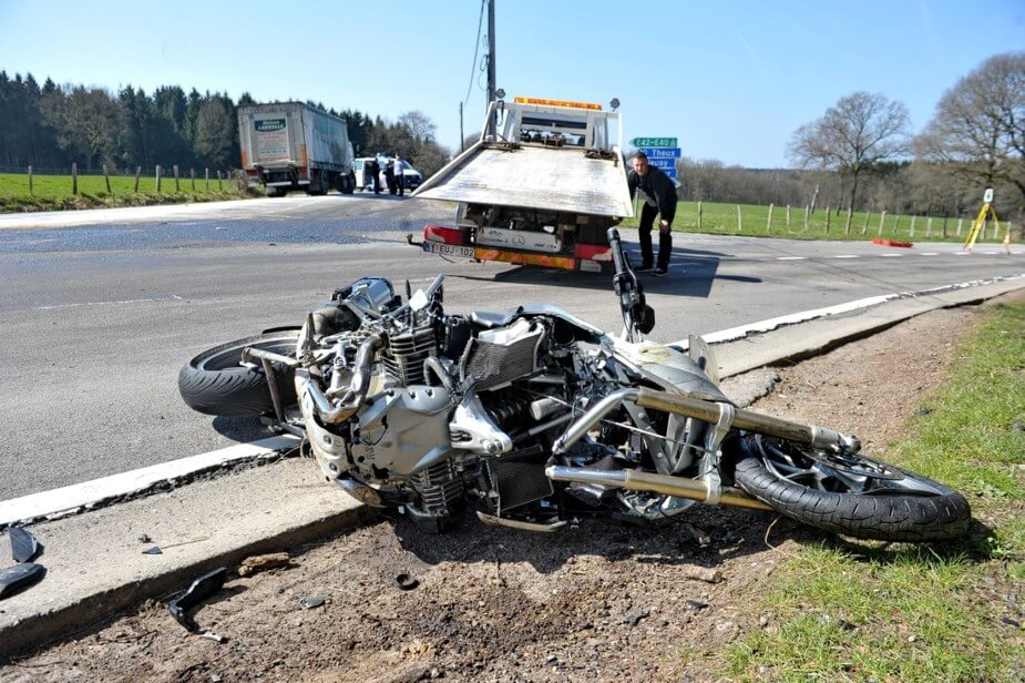 Accident mortel en moto