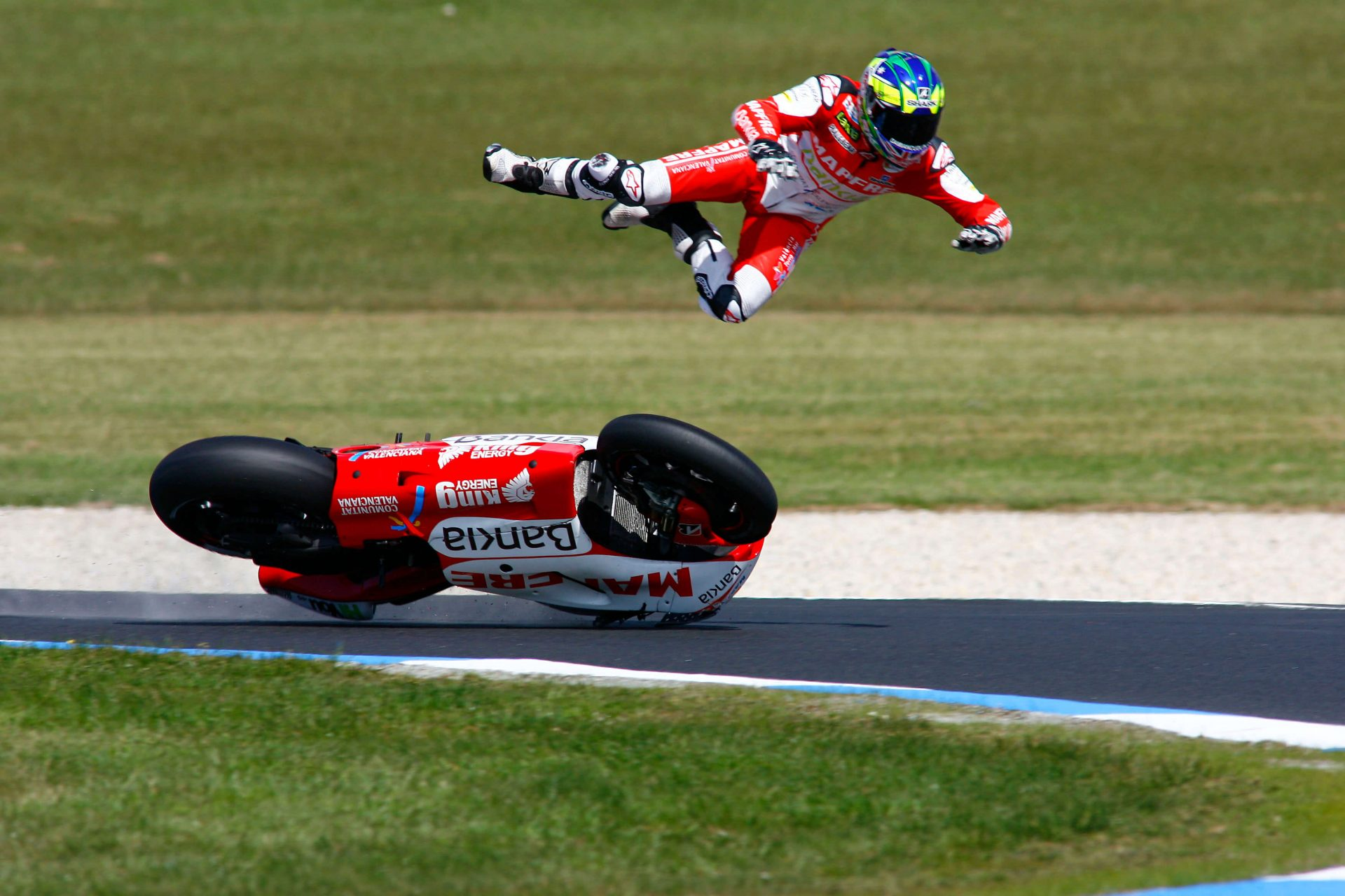 accident moto GP