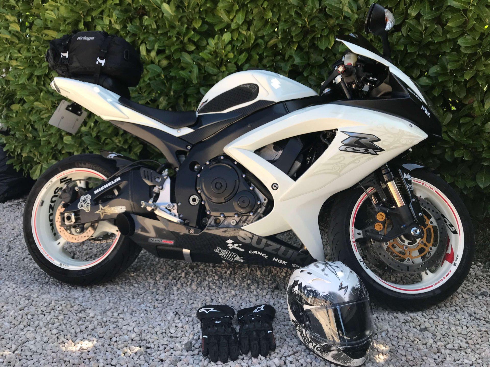 sacoche de selle à moto