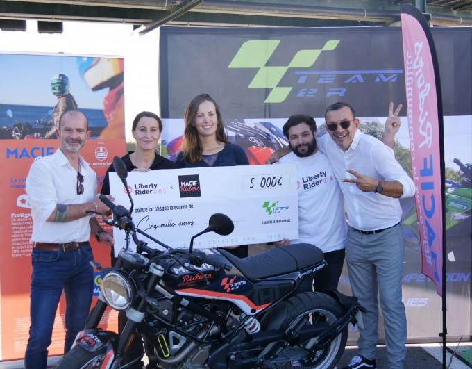 Challenge Bol d'Or : quand la Macif soutient une asso moto toulousaine
