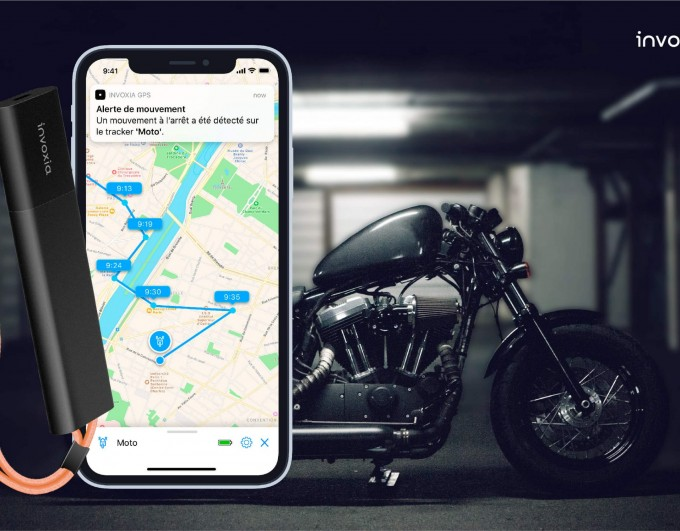 Eviter le vol de moto : la solution du traceur GPS