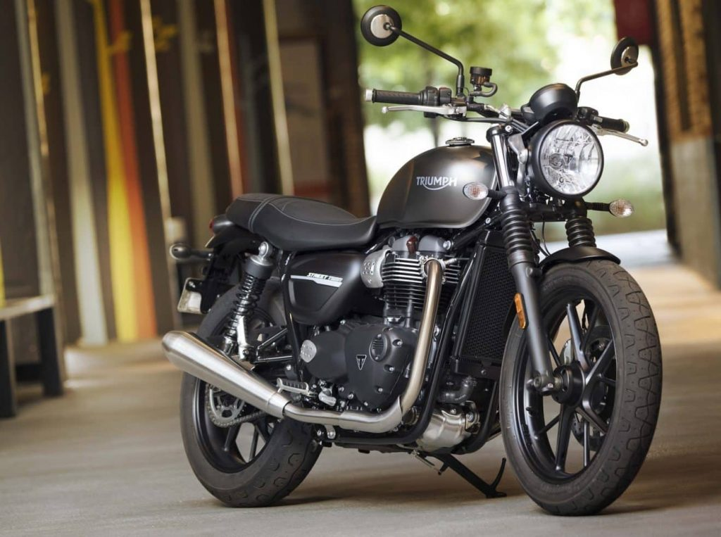 Street Twin moto petite