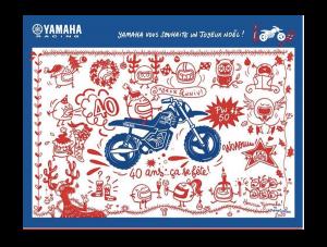 calendrier de l'avent Yamaha