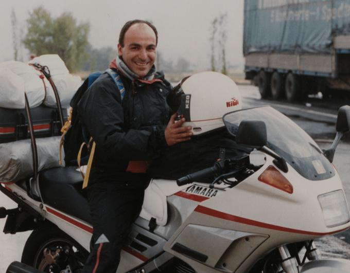 Récit motard : Dominique – Le Nez dans le Moteur