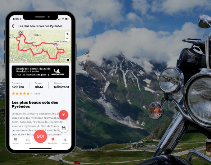 Liberty Rider partenaire du guide Michelin